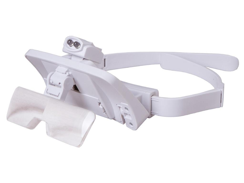 Лупа-очки Levenhuk Zeno Vizor G7 1x/1.5x/2x/2.5x/3.5x 72610