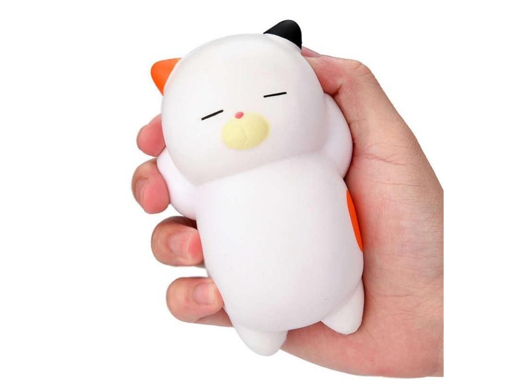Игрушка антистресс Relax Cat White А3790