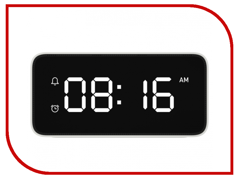 Часы Xiaomi Smart Alarm Clock White yobangsecurity gsm wifi burglar alarm system security home android ios app control wired siren pir door alarm sensor