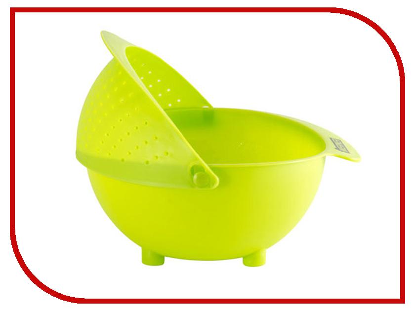Дуршлаг Werner 31x26x11.5cm Green 8459 цены онлайн