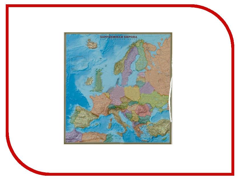 Карта политическая Глобусный Мир Зарубежная Европа 20062