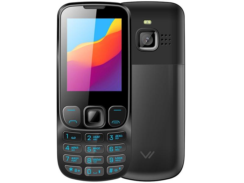 Сотовый телефон VERTEX D547 Black Metal vertex cзу vertex slim line 2 usb 3 1a black