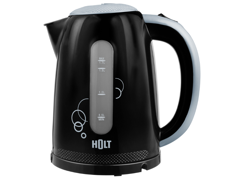 где купить Чайник Holt HT-KT 005 Black по лучшей цене