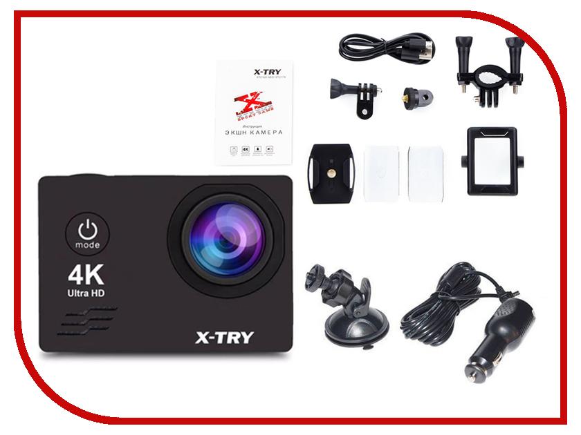 Экшн-камера X-TRY XTC171 Black prolike 4k plac001bk black экшн камера