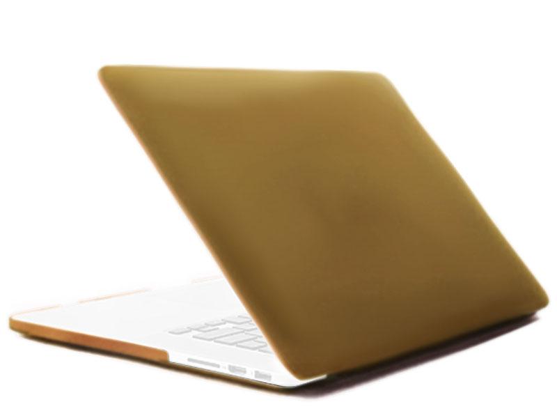 Аксессуар Чехол 12-inch Gurdini для APPLE MacBook 12 Plastic Matt Gold 220219