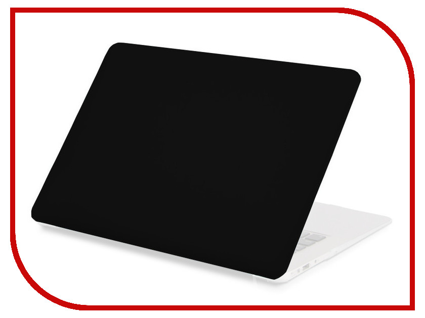 Аксессуар Чехол 13-inch Gurdini для APPLE MacBook Air 13 New 2018 Plastic Matt Black 907723
