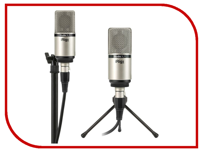 Микрофон IK Multimedia iRig Mic Studio XLR IP-IRIG-MICSTDXLR-IN