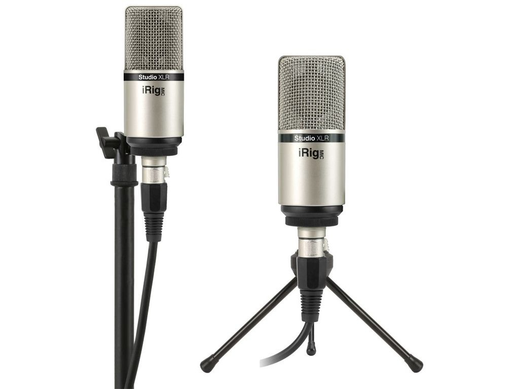Микрофон IK Multimedia iRig Mic Studio XLR IP-IRIG-MICSTDXLR-IN