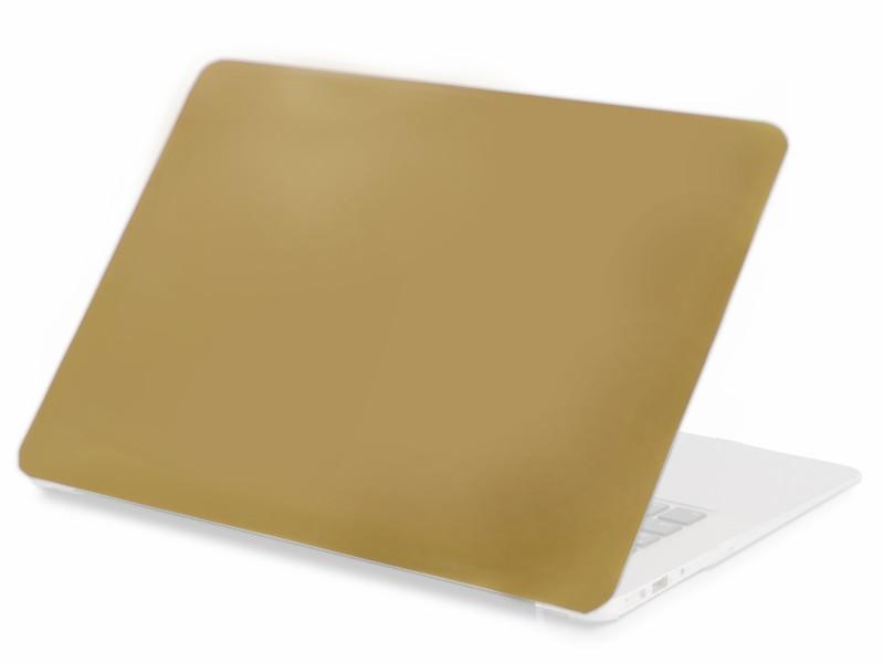 Аксессуар Чехол 13-inch Gurdini для APPLE MacBook Air 13 New 2018 Plastic Matt Gold 907933 аксессуар чехол кейс 13 3 inch activ glass для apple macbook air 13 white 88523