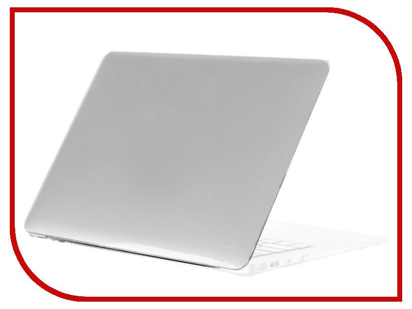 Аксессуар Чехол 13-inch Gurdini для APPLE MacBook Air 13 New 2018 Plastic Matt Silver 907932