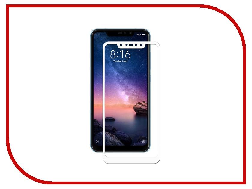 Аксессуар Стекло противоударное для Xiaomi Redmi Note 6 Pro Gurdini Full Glass 2.5D White 907930 аксессуар стекло противоударное для xiaomi redmi note 6 pro gurdini 2d full screen 0 26mm white 907618