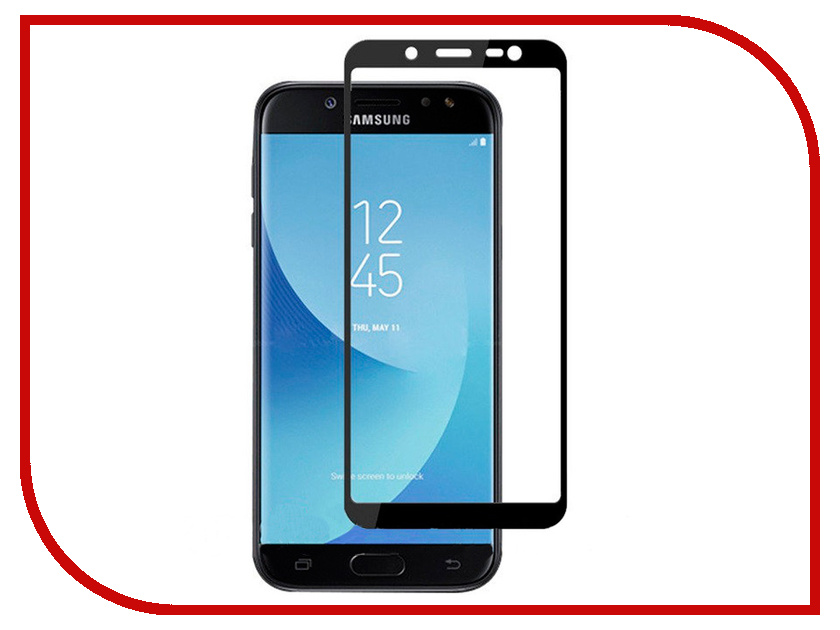 Аксессуар Стекло противоударное для Samsung Galaxy J4 Gurdini Full Glass 2.5D Black 907927 аксессуар стекло противоударное для apple iphone x gurdini 2d full screen 0 22mm matte black 905592