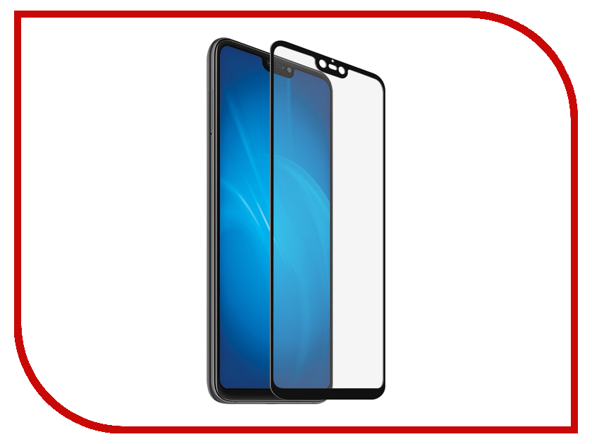 Аксессуар Защитный экран для Xiaomi Mi 8 Lite Red Line Full Screen Tempered Glass Full Glue Black УТ000017140 for lenovo zuk z2 lcd screen display with touch screen digitizer panel glass assembly black white replacement parts free shipping