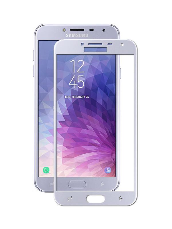 Защитное стекло для Samsung Galaxy J4 2018 J400F Zibelino TG 5D Blue ZTG-5D-SAM-J400F-BLU
