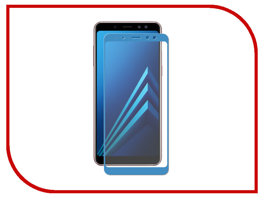 Аксессуар Защитное стекло для Samsung Galaxy A8 2018 A530 Zibelino TG 5D Blue ZTG-5D-SAM-A530-BLU аксессуар защитное стекло для samsung galaxy s8 plus gecko 5d 0 26mm blue zs26 gsgs8plus 5d dblu