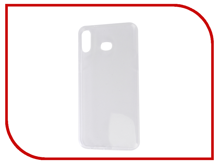 Аксессуар Чехол для Samsung Galaxy A6S 2019 G6200 Zibelino Ultra Thin Case Transparent ZUTC-SAM-A6S-WH аксессуар чехол samsung j3 2017 j330f zibelino clear view black zcv sam j330 blk