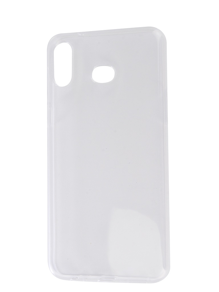 Чехол Zibelino для Samsung Galaxy A6S 2019 G6200 Ultra Thin Case Transparent ZUTC-SAM-A6S-WH