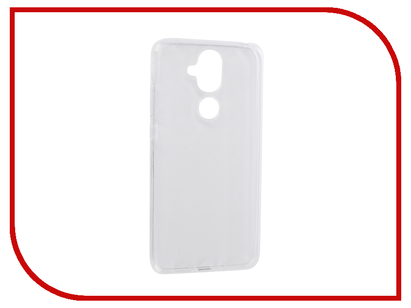 Аксессуар Чехол для Nokia 8.1 2019 Zibelino Ultra Thin Case Transparent ZUTC-NOK-8.1-WHT аксессуар чехол для nokia 6 2018 zibelino ultra thin case white zutc nok 6 2018 wht