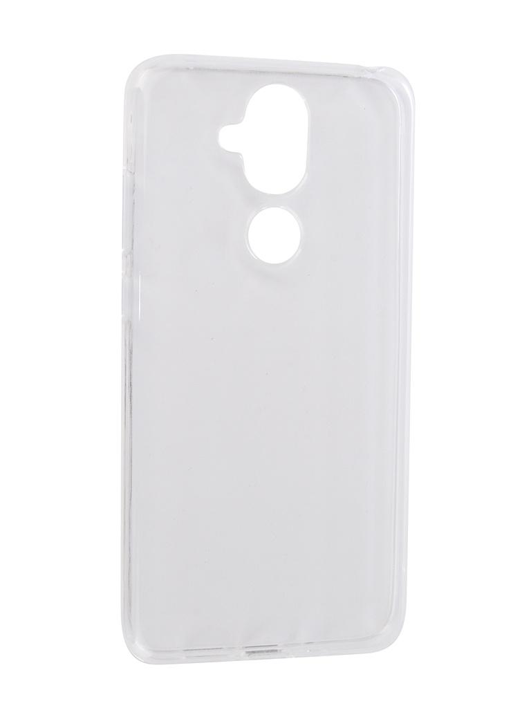 Чехол Zibelino для Nokia 8.1 2019 Ultra Thin Case Transparent ZUTC-NOK-8.1-WHT аксессуар чехол для nokia 7 1 2018 zibelino ultra thin case transparent zutc nok 7 1 wht
