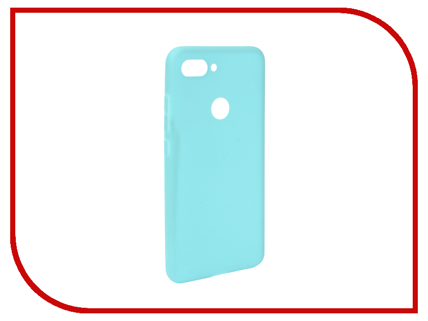 цена Аксессуар Чехол для Xiaomi Mi8 Lite Zibelino Soft Matte Turquoise ZSM-XIA-MI8-LT-TQS
