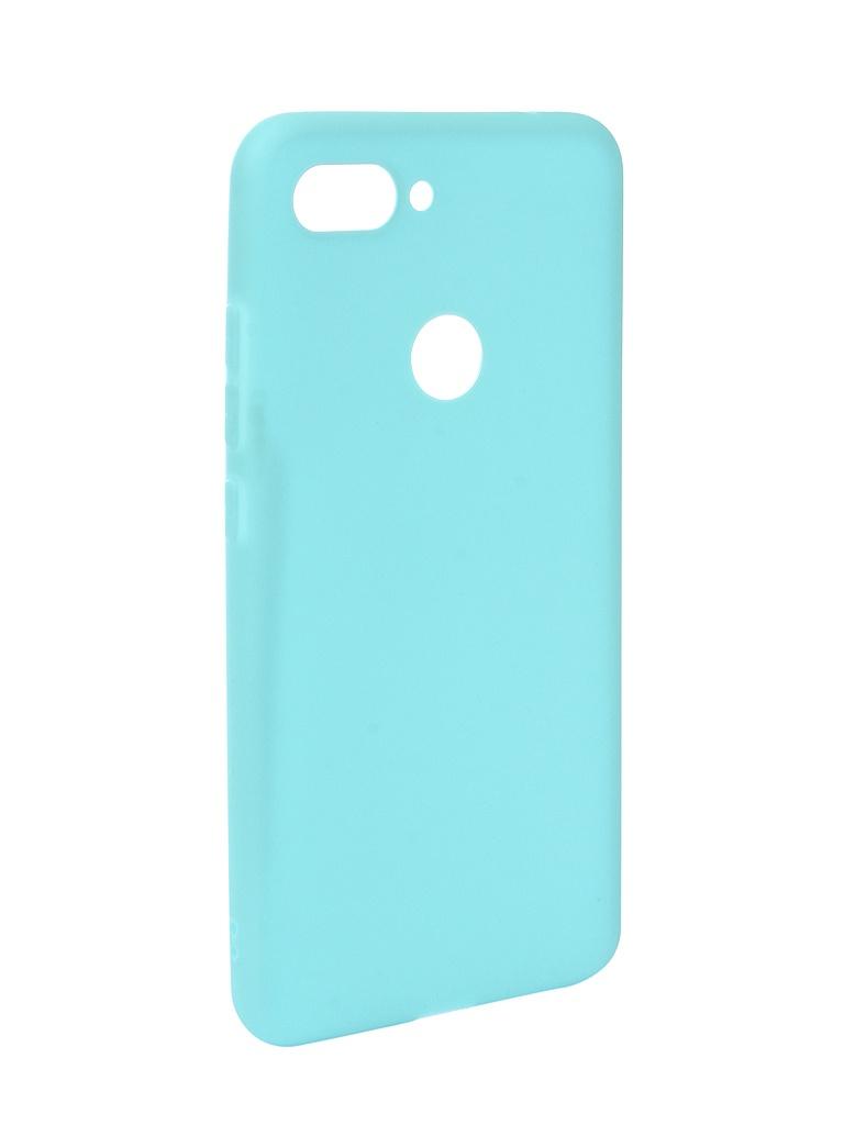 Аксессуар Чехол Zibelino для Xiaomi Mi8 Lite Soft Matte Turquoise ZSM-XIA-MI8-LT-TQS