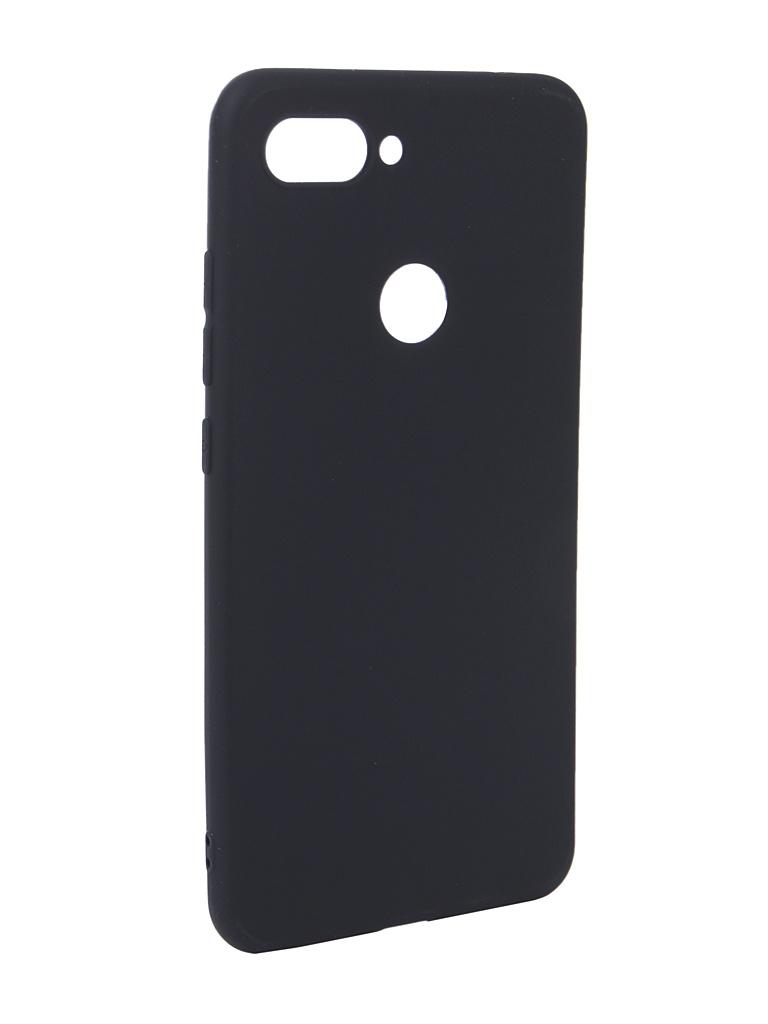 Чехол Zibelino для Xiaomi Mi8 Lite Soft Matte Dark Blue ZSM-XIA-MI8-LT-DBL
