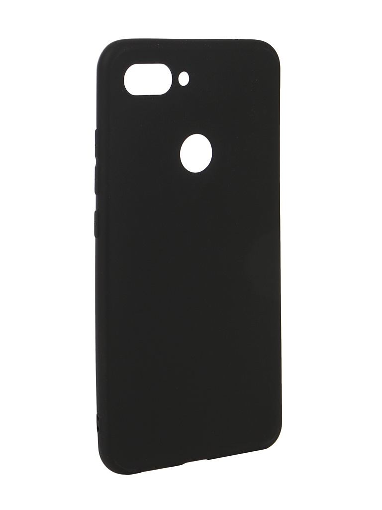 Чехол Zibelino для Xiaomi Mi8 Lite Soft Matte Black ZSM-XIA-MI8-LT-BLK