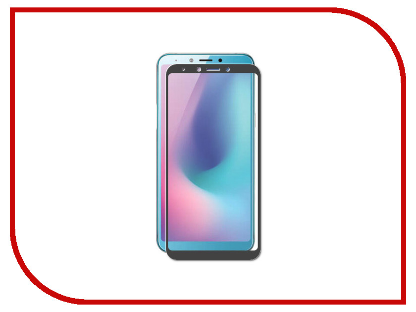 Аксессуар Защитное стекло для Samsung Galaxy A6S 2019 G6200 Zibelino TG Full Screen Black ZTG-FS-SAM-G6200-BLK  цена и фото