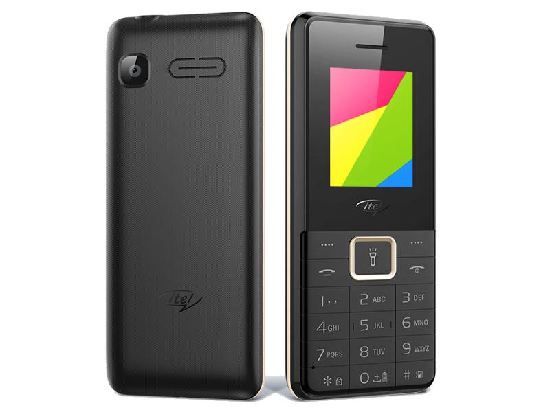 Сотовый телефон Itel 5606 Elegant Black сотовый