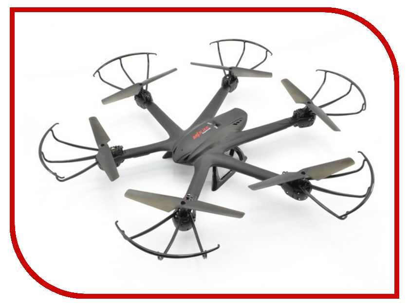 Квадрокоптер MJX X600 Black niosung high quality mjx x600 2 4g rc quadcopter drone hexacopter 6 axis gyro ufo flight