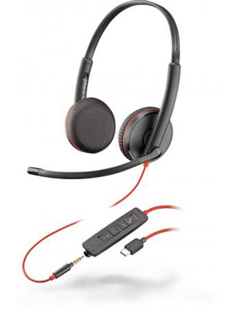 Наушники Plantronics Blackwire C3225-C