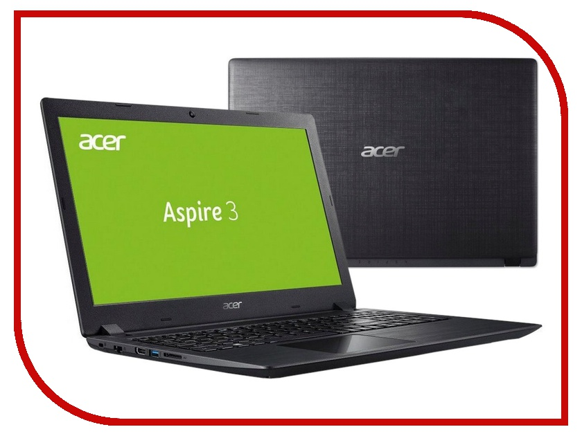 Ноутбук Acer Aspire A315-51-38FY Black NX.GNPER.036 (Intel Core i3-7020U 2.3 GHz/4096Mb/128Gb SSD/Intel HD Graphics/Wi-Fi/Bluetooth/Cam/15.6/1920x1080/Windows 10) цена