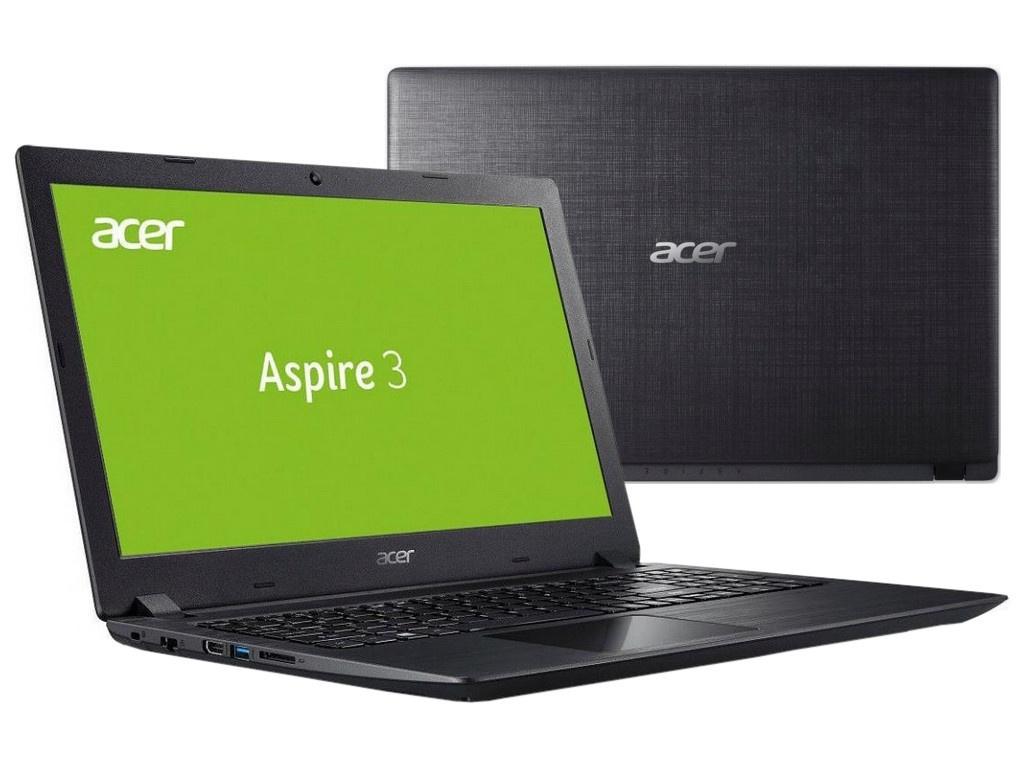 Ноутбук Acer Aspire A315-51-38FY Black NX.GNPER.036 (Intel Core i3-7020U 2.3 GHz/4096Mb/128Gb SSD/Intel HD Graphics/Wi-Fi/Bluetooth/Cam/15.6/1920x1080/Windows 10)