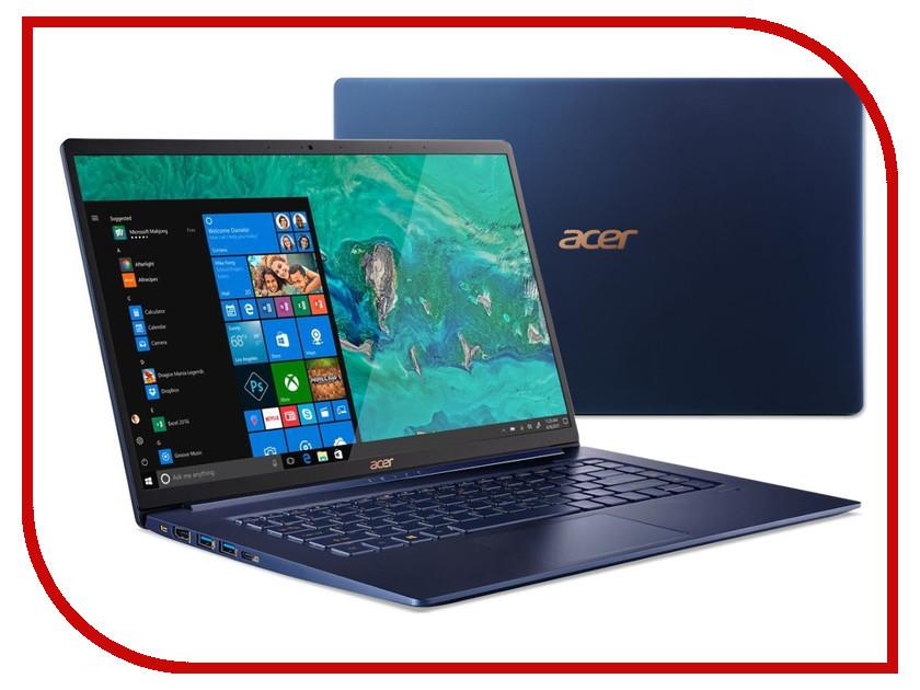 Ноутбук Acer Swift 5 SF515-51T-79UF NX.H69ER.003 (Intel Core i7-8565U 1.8 GHz/16384Mb/512Gb SSD/Intel HD Graphics/Wi-Fi/Bluetooth/Cam/15.6/1920x1080/Touchscreen/Windows 10 64-bit) цена