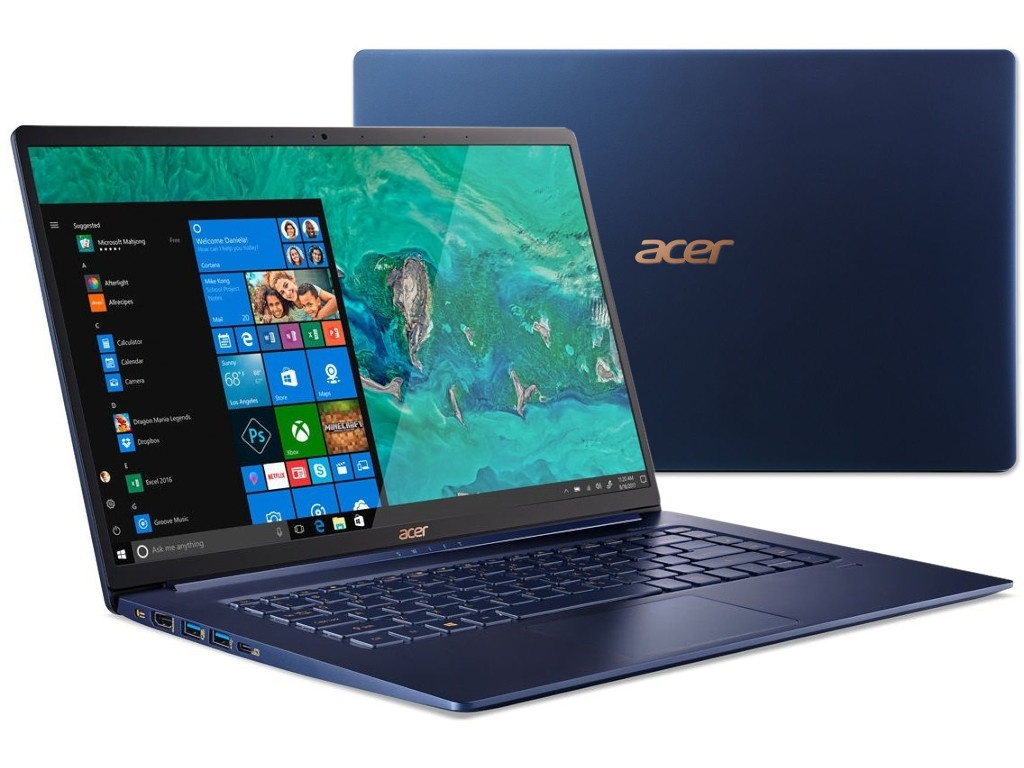 Ноутбук Acer Swift 5 SF515-51T-79UF NX.H69ER.003 (Intel Core i7-8565U 1.8 GHz/16384Mb/512Gb SSD/Intel HD Graphics/Wi-Fi/Bluetooth/Cam/15.6/1920x1080/Touchscreen/Windows 10 64-bit) ноутбук dell xps 13 silver 9365 5492 intel core i7 8500y 1 5 ghz 16384mb 512gb ssd intel hd graphics wi fi bluetooth cam 13 3 3200x1800 touchscreen windows 10 home 64 bit