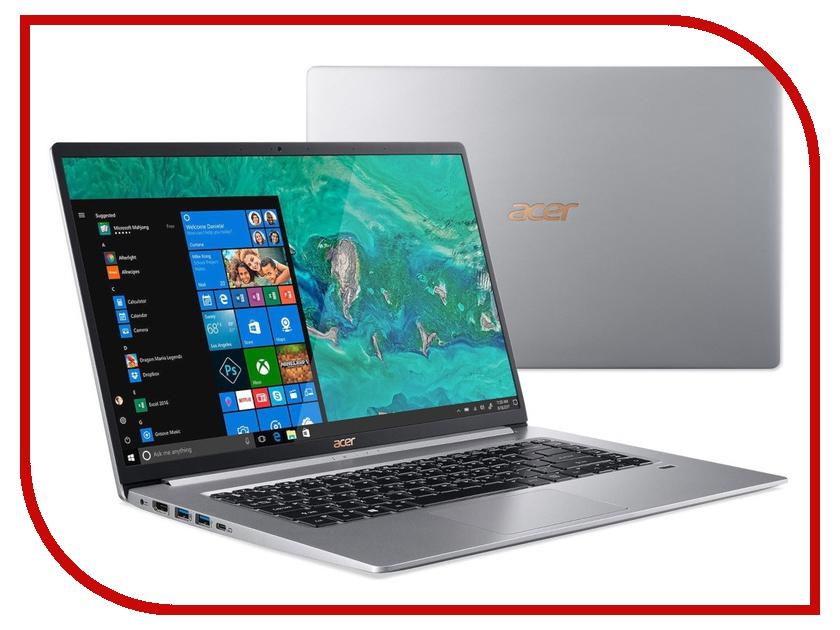 Ноутбук Acer Swift 5 SF515-51T-7749 NX.H7QER.003 (Intel Core i7-8565U 1.8 GHz/16384Mb/512Gb SSD/Intel HD Graphics/Wi-Fi/Bluetooth/Cam/15.6/1920x1080/Touchscreen/Windows 10 64-bit) цена