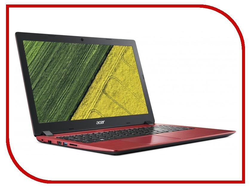 Ноутбук Acer Aspire A315-53G-37GP Red NX.H49ER.004 (Intel Core i3-8130U 2.2 GHz/4096Mb/256Gb SSD/nVidia GeForce MX130 2048Mb/Wi-Fi/Bluetooth/Cam/15.6/1920x1080/Windows 10) цена