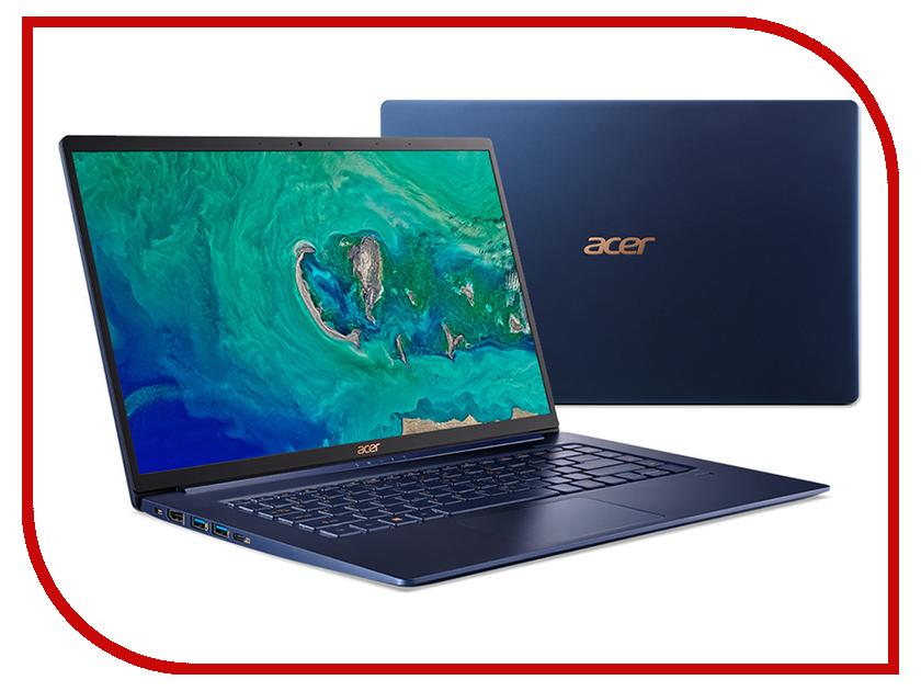 Ноутбук Acer Swift 5 SF515-51T-71L2 NX.H69ER.004 (Intel Core i7-8565U 1.8 GHz/8192Mb/512Gb SSD/Intel HD Graphics/Wi-Fi/Bluetooth/Cam/15.6/1920x1080/Touchscreen/Windows 10 64-bit) цена
