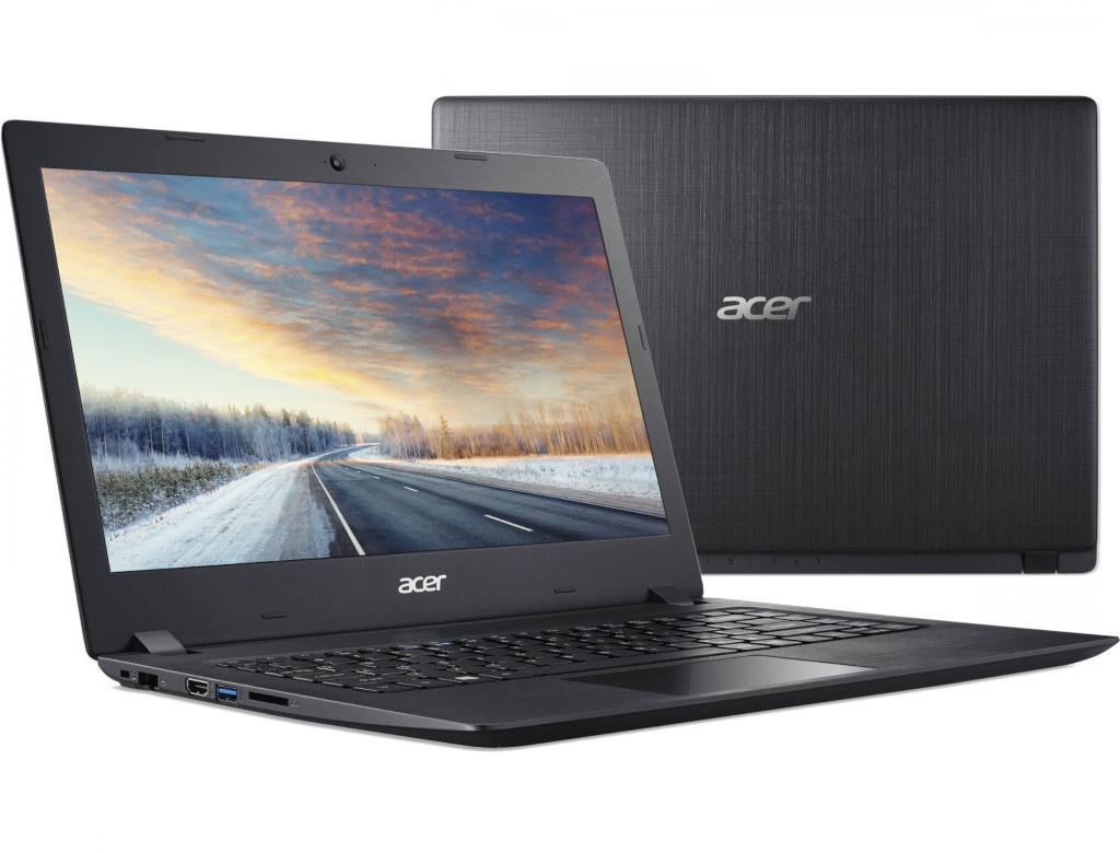 Ноутбук Acer Aspire A315-53G-58YU Black NX.H1AER.010 (Intel Core i5-8250U 1.6 GHz/8192Mb/1000Gb+128Gb SSD/nVidia GeForce MX130 2048Mb/Wi-Fi/Bluetooth/Cam/15.6/1920x1080/Linux) цена