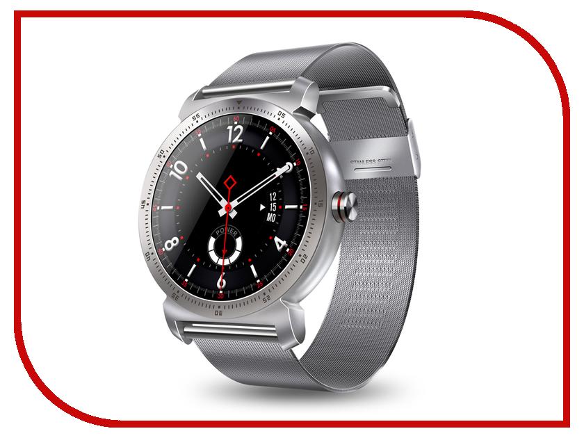 Фото - Умные часы Eco K88H Plus Metal Strap Silver metal buckle strap slingback flats