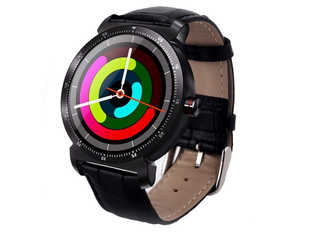 Умные часы Eco K88H Plus Leather Strap Black z4 smart watch leather strap black