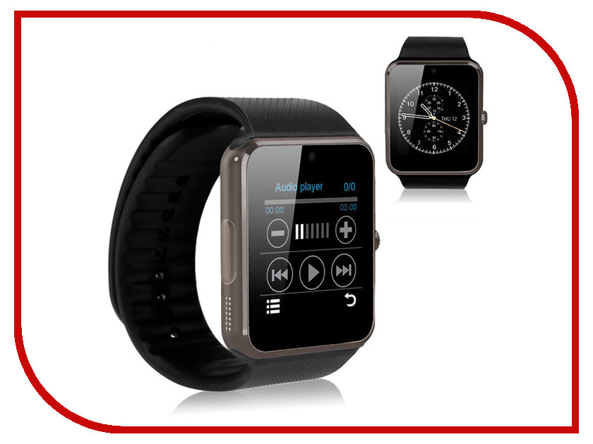 Умные часы Eco GT08 Black умные часы colmi gt08 bluetooth 3 0 red rup003 gt08 5 f