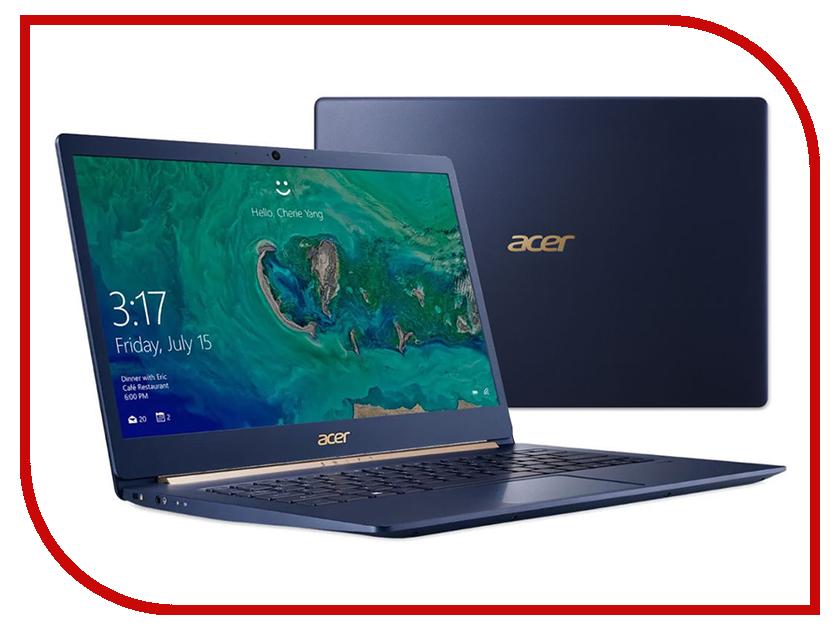 Ноутбук Acer Swift 5 SF514-53T-793D NX.H7HER.002 (Intel Core i7-8565U 1.8 GHz/16384Mb/512Gb SSD/Intel HD Graphics/Wi-Fi/Bluetooth/Cam/14.0/1920x1080/Touchscreen/Windows 10 64-bit) цена