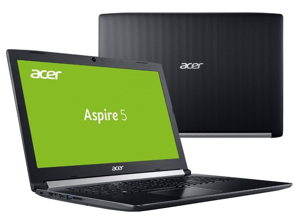 цены Ноутбук Acer Aspire A517-51G-332U Black NX.GSXER.013 (Intel Core i3-8130U 2.2 GHz/8192Mb/1000Gb+128Gb SSD/DVD-RW/nVidia GeForce MX150 2048Mb/Wi-Fi/Bluetooth/Cam/17.3/1920x1080/Linux)