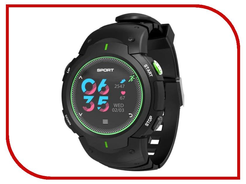 Умные часы NO.1 F13 Black-Green умные часы carcam v06 green