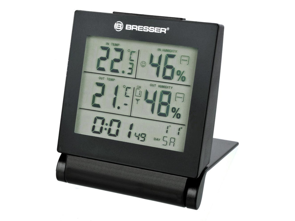 Погодная станция Bresser MyTime Travel Alarm Clock Black