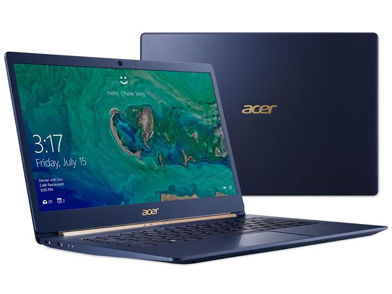 Ноутбук Acer Swift 5 SF514-53T-5105 NX.H7HER.001 (Intel Core i5-8265U 1.6GHz/8192Mb/256Gb SSD/No ODD/Intel HD Graphics/Wi-Fi/Bluetooth/Cam/14.0/1920x1080/Touchscreen/Windows 10 64-bit) цена