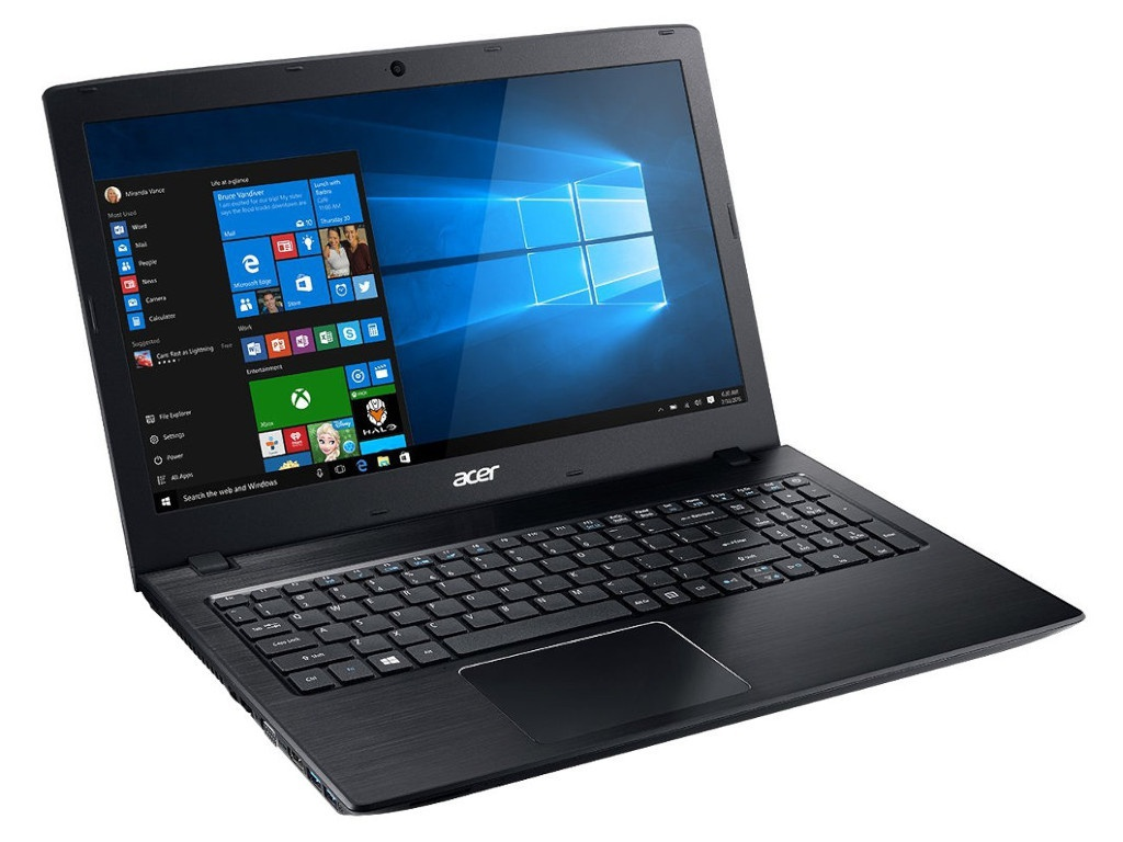Ноутбук Acer Aspire E5-576-378B Black NX.GRYER.003 (Intel Core i3-8130U 2.2 GHz/8192Mb/1000Gb+128Gb SSD/Intel HD Graphics/Wi-Fi/Bluetooth/Cam/15.6/1920x1080/Windows 10 Home 64-bit)