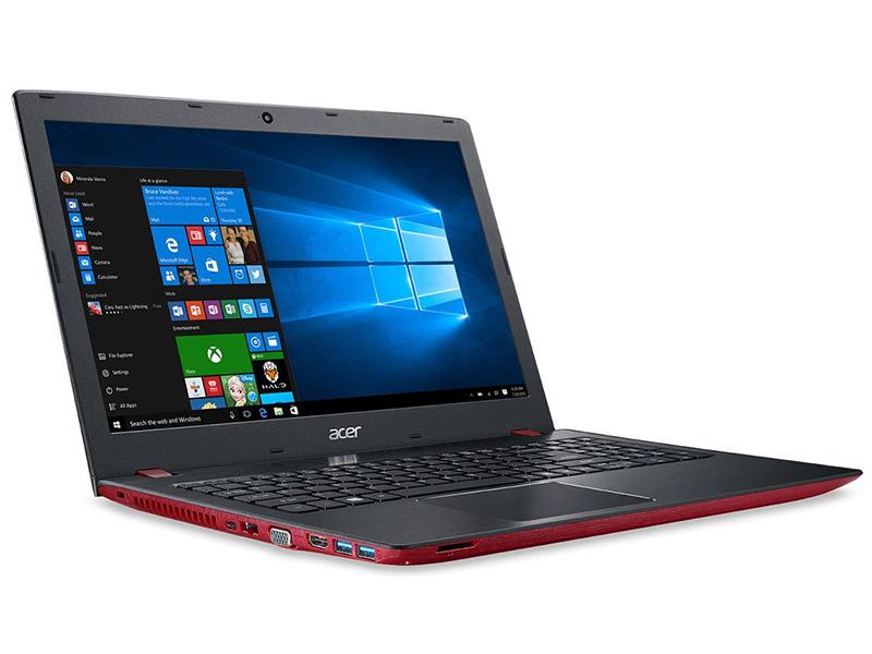 Ноутбук Acer Aspire E5-576G-5219 Red NX.GVAER.002 (Intel Core i5-7200U 2.5 GHz/8192Mb/1000Gb/DVD-RW/nVidia GeForce MX130 2048Mb/Wi-Fi/Bluetooth/Cam/15.6/1920x1080/Linux) ноутбук acer aspire e5 576g 31sj nx gvber 031