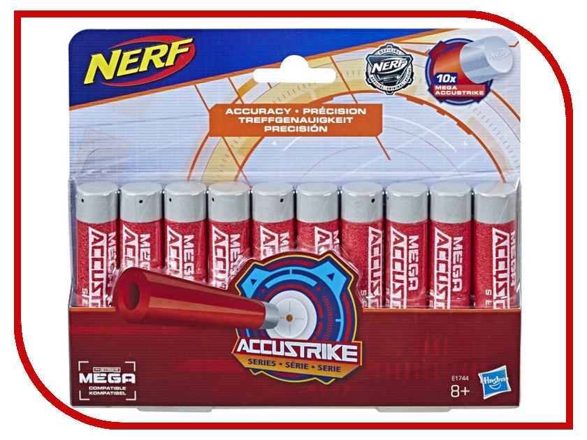 Купить Игрушка Hasbro Nerf Стрелы Мега Аккустрайк 10 стрел E1744EU4